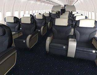 Wybór klasy biznes w samolocie