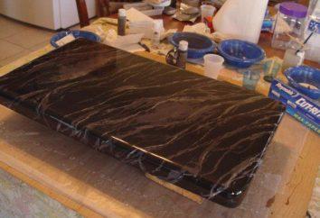 Comment faire un marbre concret: la technologie. marbre artificiel du béton