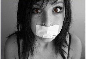 Głupi ludzie: powody milczenia. wycisza językowe