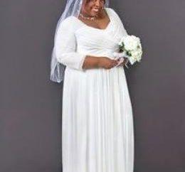 Jak wybrać suknię ślubną dla panny pełnych