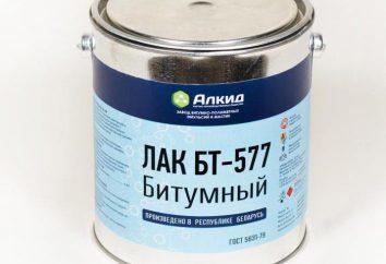 Lacquer BT-577: especificações, instruções de uso, fabricante