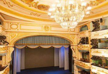 Teatr Dramatyczny, schemat Irkuck pokoju. Irkuck Teatru Dramatycznego. Okhlopkova