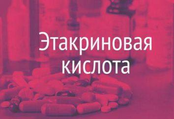 l'acide éthacrynique: indications, les contre-indications, la posologie