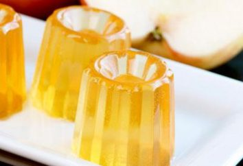 gelatina utile e gustoso dalle mele: ricetta