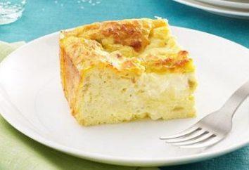"""Casserole sem ovo """"Queijo"""": algumas receitas especificamente para a tabela das crianças"""