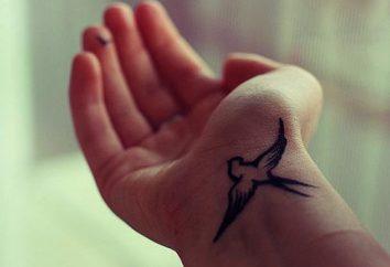 Tatuaż na nadgarstku dziewczyny – to świetny sposób, aby wyrazić