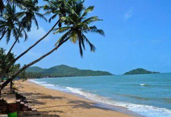 Praia de Palolym na parte mais a sul de Goa: descrição, opiniões de turistas