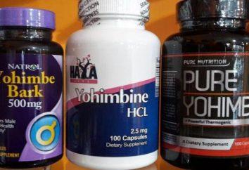 Yohimbine odchudzanie: instrukcje, dawkowanie, recenzje