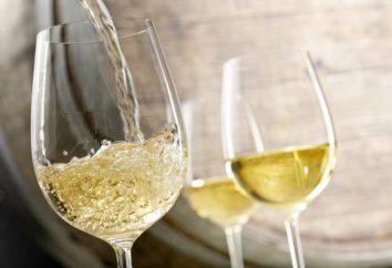 Białe wino: korzyści i szkód dla organizmu