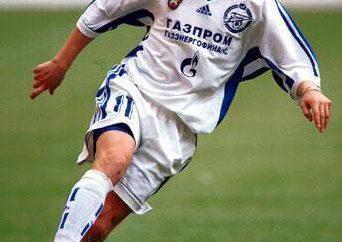 Futebolista Alexander Panov e sua escola de futebol