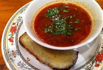 El kharcho tradicional receta de la sopa