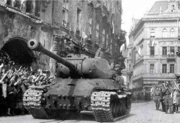 Come è stata la liberazione di Praga (Praga operazioni)? chirurgia Prazhskaya: risultati