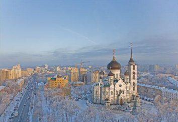 Voronezh Ponte de Pedra: História e descrição