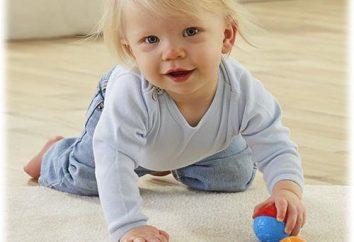 W ilu miesięcy dziecko zaczyna raczkować, i jak to naprawić tę umiejętność?