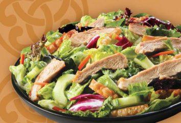 Sałatka z piersi kurczaka diety: przepis ze zdjęciem