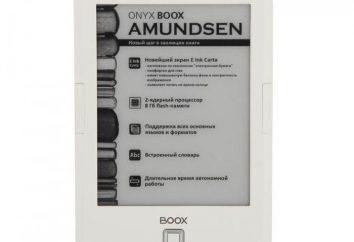 Książka elektroniczna Onyx Boox Amundsen: opinie, projekty, specyfikacje techniczne