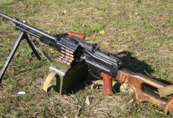 PC karabin maszynowy. Nowoczesne broni palnej. Karabin maszynowy PK