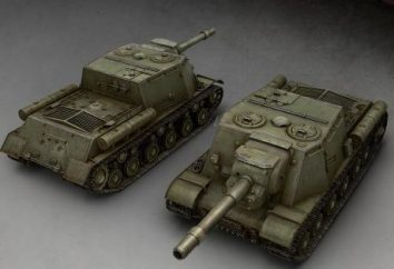 "ISU-152 ""Hypericum"". World of Tanks: ISU-152 – Donner ""Tiger"" und ""Panther"""