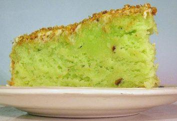 Pistacjowy tort: zwłaszcza gotowanie, przepis i opinie