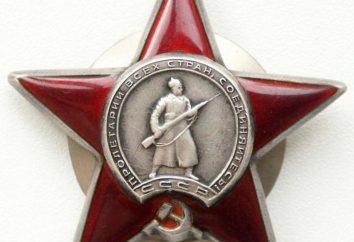 Dlaczego dają Zakon Czerwonej Gwiazdy? Zamówienia wojskowe i medale Związku Radzieckiego