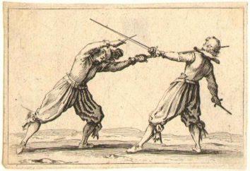 Epée et rapière. La différence est un outil d'un autre. Epée, rapière et sabre: quelles sont les différences?
