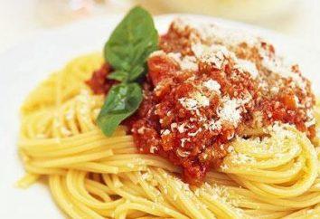 Pasta Salsa Bolognese per la ricetta italiana