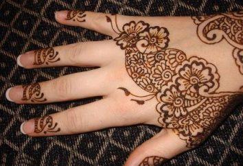 Jak narysować mehendi na rękach?