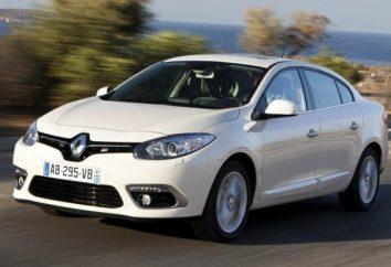 « Renault Fluence »: spécifications techniques et un examen du modèle 2013