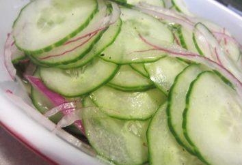 salade de concombre « Nijinsky »: délicatesse légumes en hiver