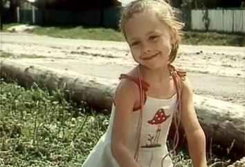 Kosmacheva Julia Aleksandrowna. Młoda aktorka Radziecki