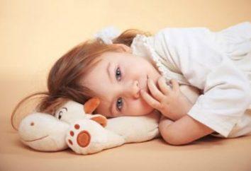 La trama di insonnia nei bambini. Come affrontare l'insonnia?