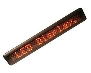 LED przewijanie tekstu z rękami: do produkcji kierunkiem