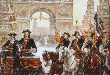 La publication du manifeste « De la liberté noble » et « Charte à la Noblesse. » Leurs causes et résultats
