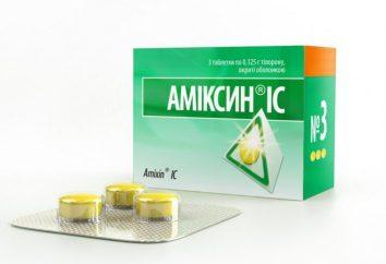 """""""Amiksin"""": Wskazania do stosowania i skutków ubocznych. """"Amiksin"""" – Skład"""