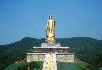 Primavera Templo do Buda – um símbolo de respeito para o povo chinês ao patrimônio do budismo