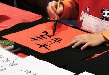 Chińskie znaki z tłumaczeniem na język rosyjski