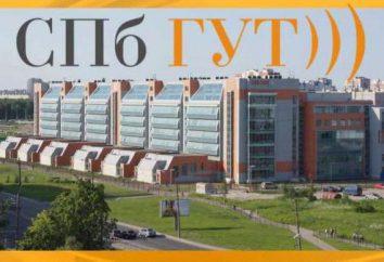 Bonch-Bruevich Uniwersytet w Petersburgu: wydziały, adres, zdjęcia, opinie