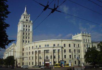 Piazza Lenin (Voronezh): storia, in particolare l'edificio. Attrazioni quartiere Leninsky