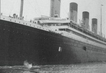 """O navio """"Olympic"""": a história. """"Olímpicos,"""" Titanic """""""" Britannicus """"- transatlânticos"""