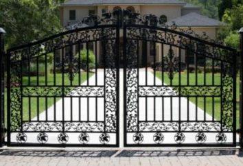 métal des portes battantes – Description de la variété