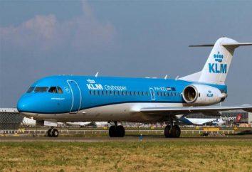 Descrizione generale e la storia del velivolo Fokker-70