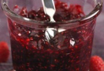 La recolección de la de invierno de frambuesas – sabroso y saludable tratar