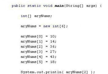 Array Java. Tablice w Javie. Java dla początkujących
