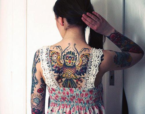 Tatuaż Sowa Znaczenie I Symbolizm
