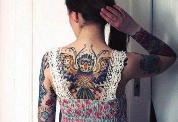 """Tatuaż """"Sowa"""": znaczenie i symbolizm"""