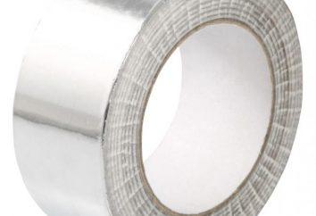 Nastro adesivo in alluminio: proprietà, tipi, caratteristiche