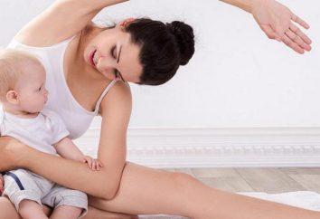Übungen für den Bauch nach der Geburt. Übungen zur Straffung des Bauches nach der Geburt stillende Mutter