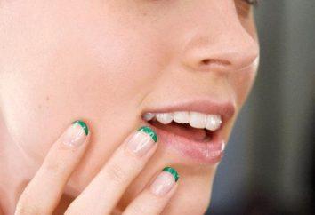 Insolito francese: idee interessanti e foto manicure