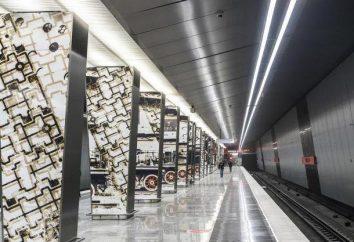 """Estação de metro """"Minskaya"""": atrações"""