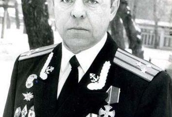 Eroe della Russia colonnello Alexander Mozhaev Marine